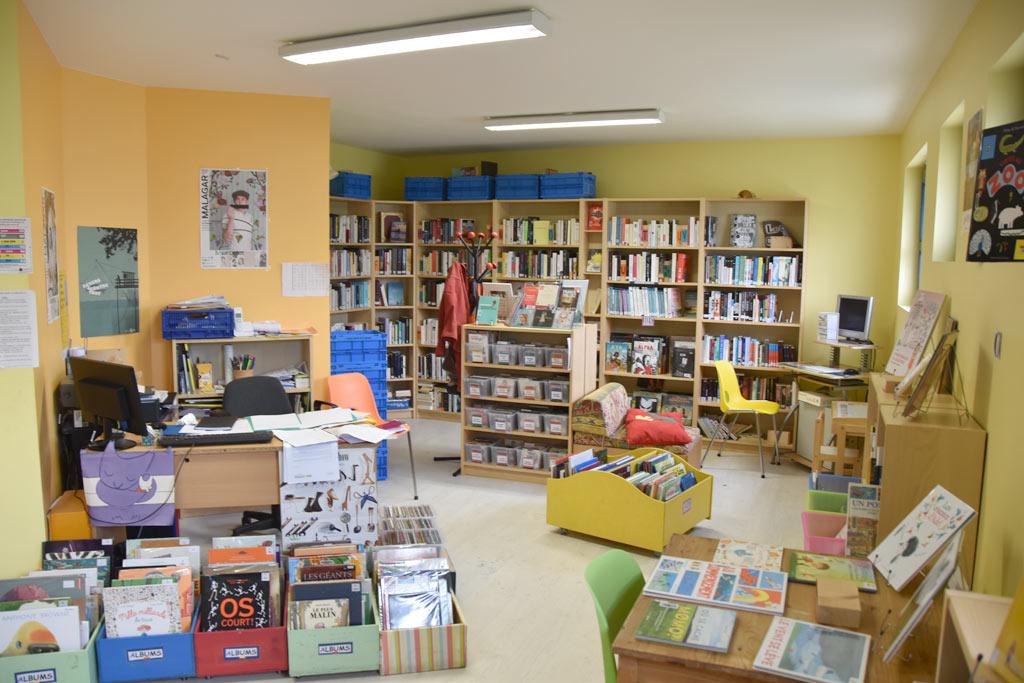 Ré – ouverture de la bibliothèque