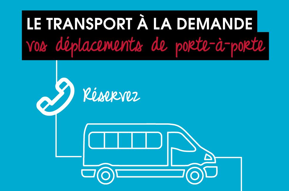 Nouveau ! Transport à la demande
