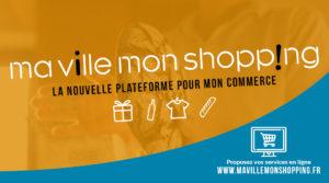 La Communauté de communes Convergence Garonne adhère à la plateforme « Ma Ville, Mon Shopping », pour soutenir ses entreprises !
