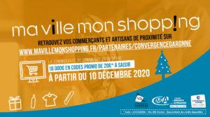 « Ma Ville, Mon Shopping » c'est parti !