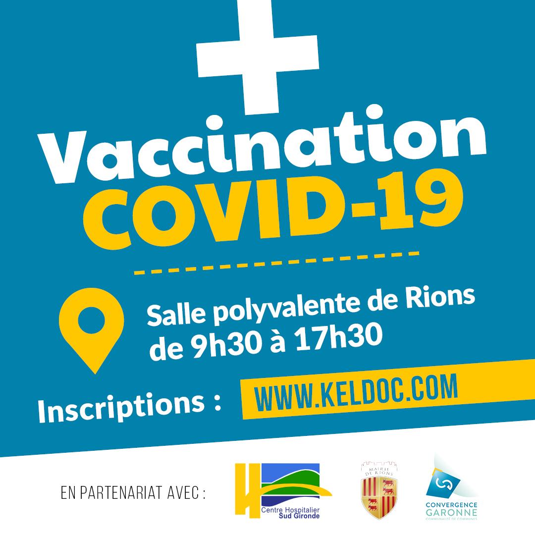 Rions recherche des bénévoles pour son centre de vaccination .