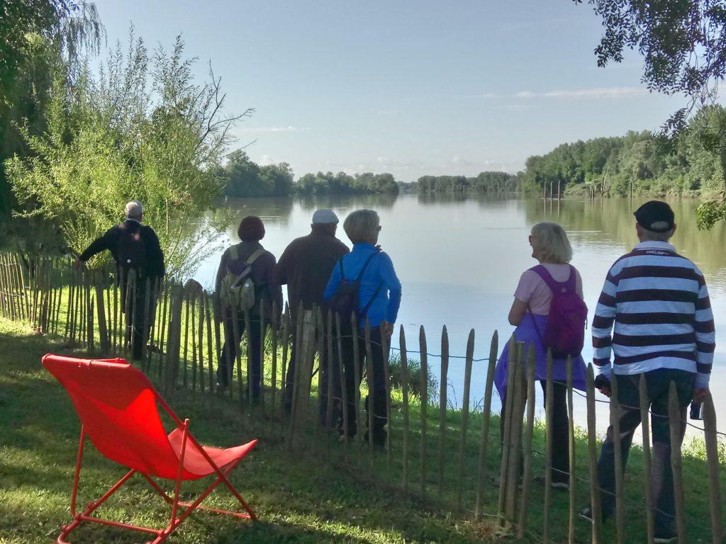 Vue sur Garonne depuis la guinguette