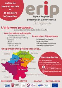 Affiche A3 – ERIP Sud Gironde